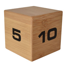 Bamboo TimeCube® 5-10-20-25 Minute Preset Timer
