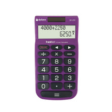 2-Line TrackBack Handheld Calculator