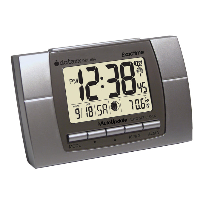 Atomic Clock and Calendar with Extra Large Display