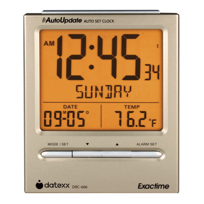 ExactTime - Digital Atomic Alarm Clock and Calendar