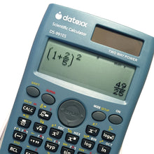 4 Line FX-991ES Compatible - Dual Power Scientific Calculator with Natural Textbook Display