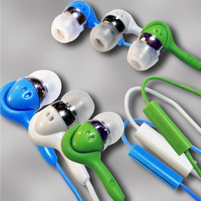 3 pc set inTalk - High Performance Stereo Earphones with Microphone