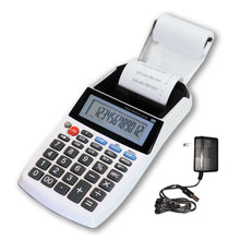 12 Digit LCD AC/DC Palm Size Business Printing Calculator-Profit Manager