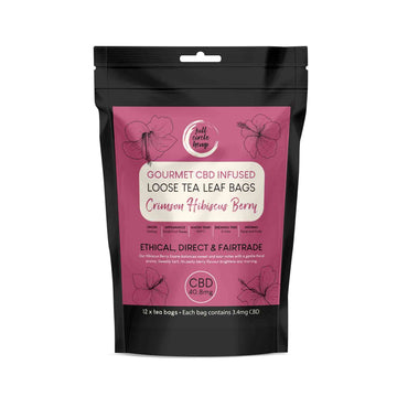 Gourmet CBD Infused Hibiscus Berry Herbal Tea from Full Circle Hemp Ireland