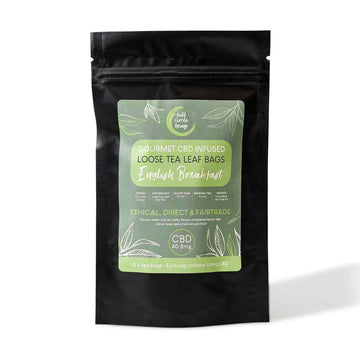 English Breakfast CBD Infused Black Tea from Full Circle Hemp Ireland