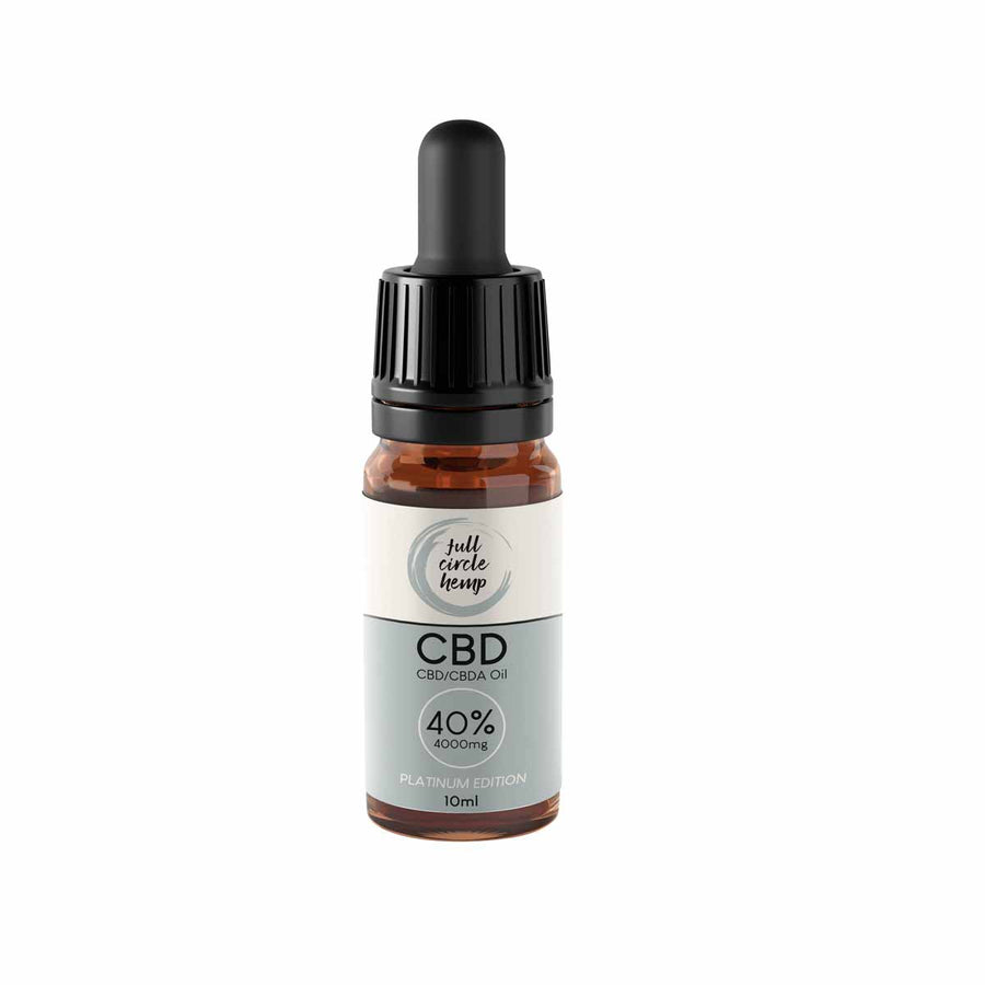CBD Oil 40% 4000mg 10ml Platinum Edition Full Spectrum from Full Circle Hemp Ireland