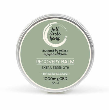 CBD Recovery Balm | 1000mg CBD | Muscle Relief from Full Circle Hemp Ireland
