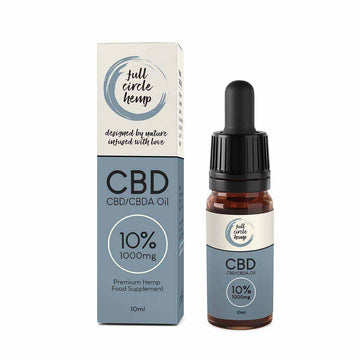 10% 1000mg Full Spectrum CBD Oil from Full Circle Hemp Ireland