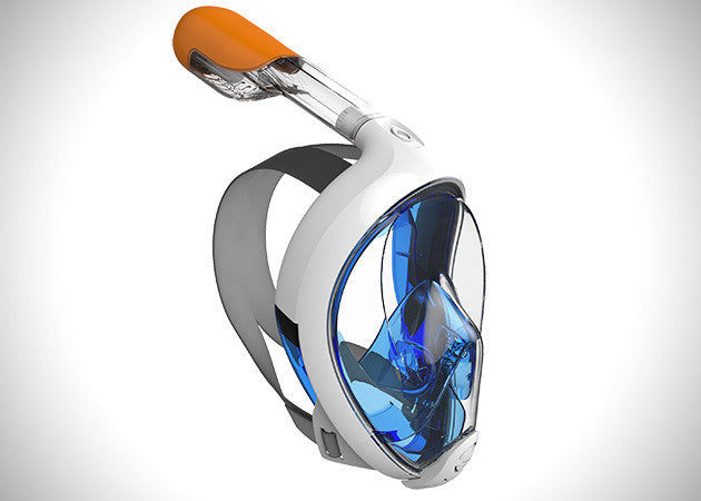 TRIBORD EASYBREATH SURFACE SNORKELING MASK