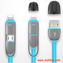 USB cable 2 in 1