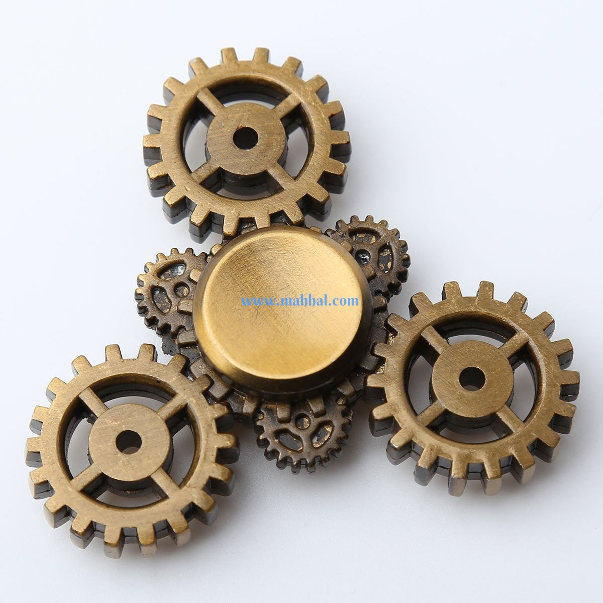 Triangle Gear Spinner - Bronze