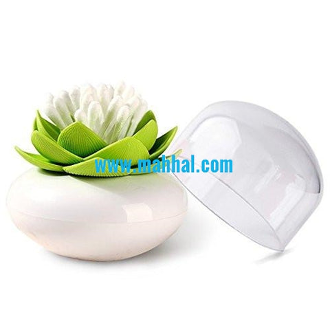Cotton Bud Holder - LOTUS