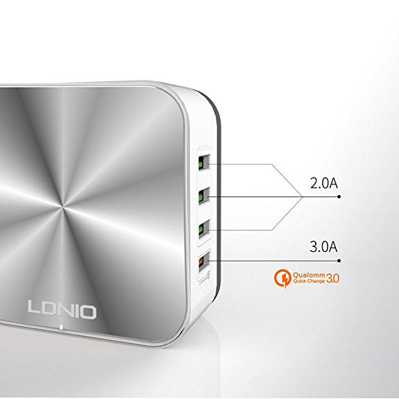 LDNIO A8101 Pretty Awesome Desktop Charger!