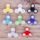"LED Fidget Tri- Spinner ""White"""