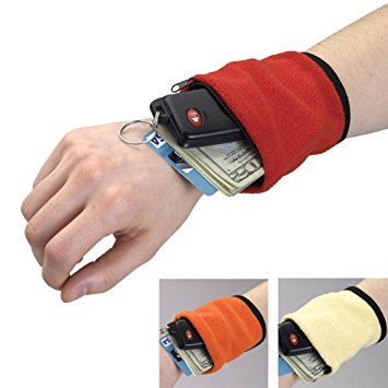 Wrist Wallets With Zippered