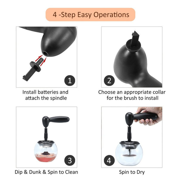 Makeup Brush Cleaner & Dryer