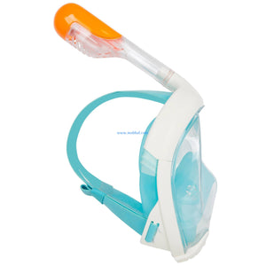 TRIBORD EASYBREATH SURFACE SNORKELING MASK - TURQUOISE