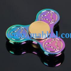 "Plum Flower Spinner ""RAINBOW"""