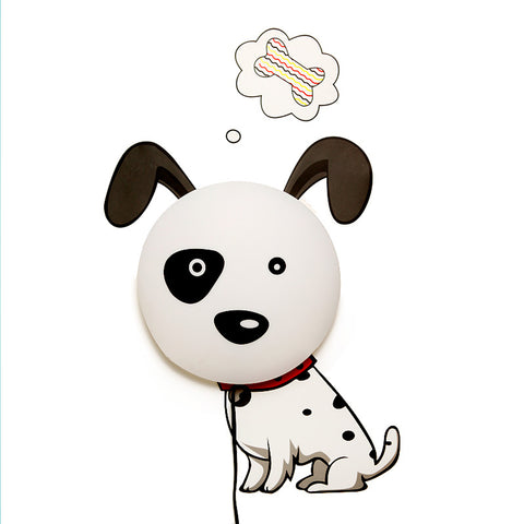 Puppy Wall Sticker Night Light
