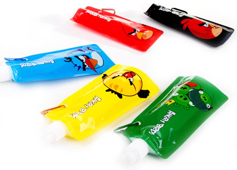 FOLDABLE REUSABLE WATER BOTTLE