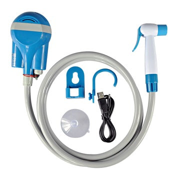 Rechargeable electric shower