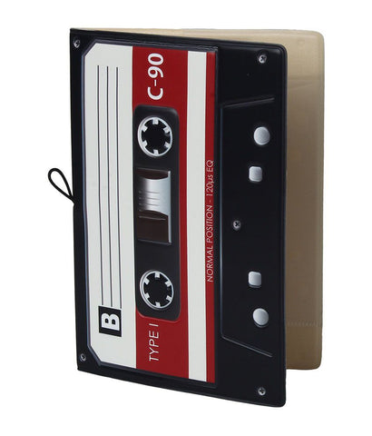 Cassette Tape Passport Cover 📼
