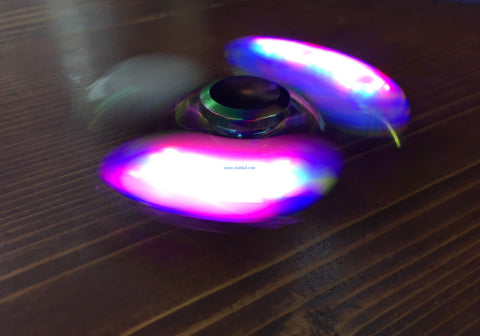 Rainbow Led Spinner