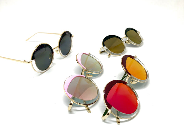 round-eyebro -shape 2017 sunglasses