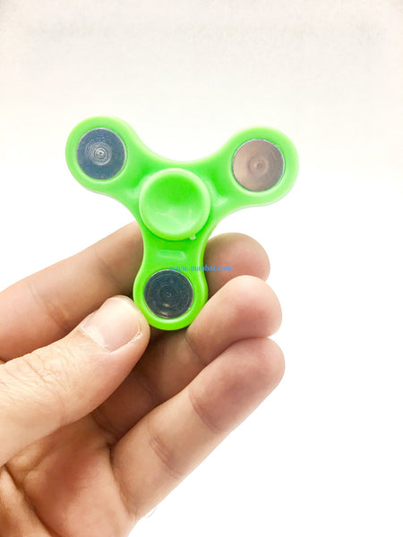 "Tri Mini Fidget Spinner ""GREEN"""