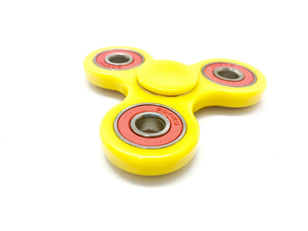 "Tri-Spinner Fidget ""Yellow & Red"""