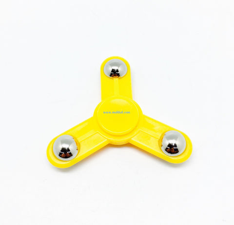 "TRI-WING FIDGET SPINNER ""Yellow"""