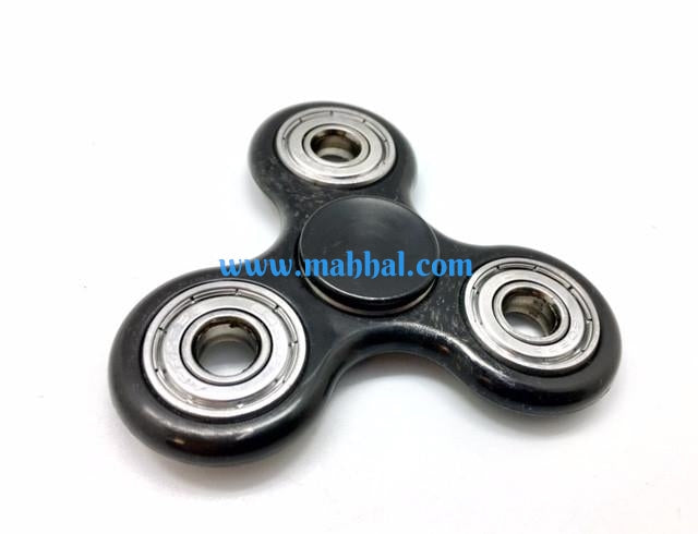 "Tri-Spinner Fidget ""Black"""