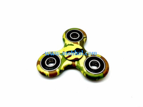 "Army Tri-Spinner Fidget ""Green"""