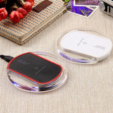 LED Fantasy Wireless Charger Crystal