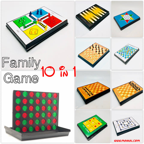 Family Game 10 in 1