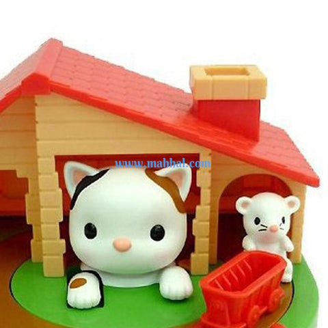 Cat and Mouse Coin Saving Bank - Fun Coin Stealing Money Box