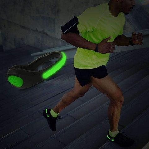 Light&Run Shoe Warning LED Light (2 Pcs)