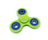 "Tri-Spinner Fidget ""Green & Blue"""