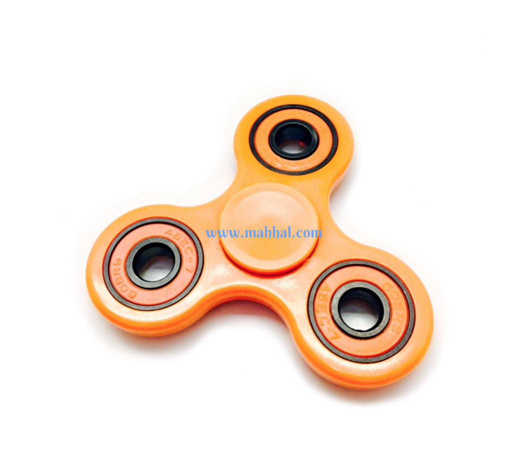 "Tri-Spinner Fidget ""Orange"""