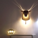 ALUMINIUM DEER HEAD LED LIGHT