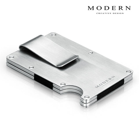 Aviation Aluminum Wallet