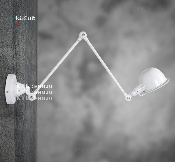 American long arm folding wall lamp