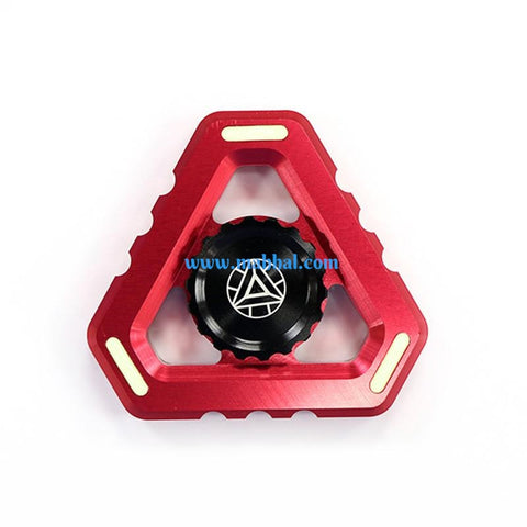 Iron Man Triangle Spinner Glow in The Dark