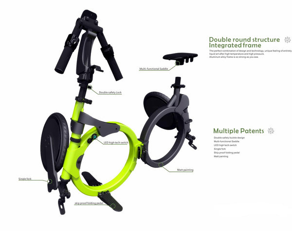 TransFold Electric Bike