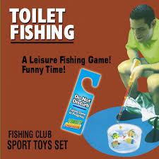 Hook, Line and Stinker Toilet Fishing Game