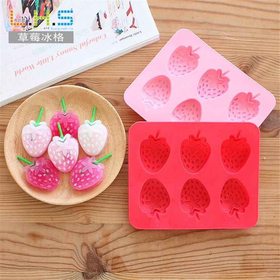 Strawberry Ice Mold