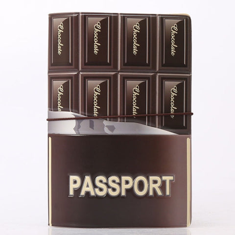 Chocolate Passport Holder