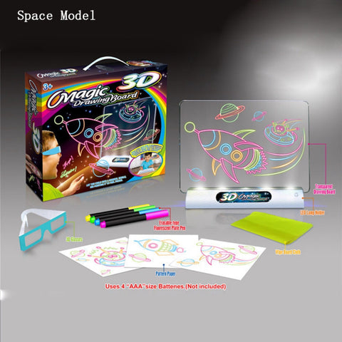Magic 3D Drawing Board