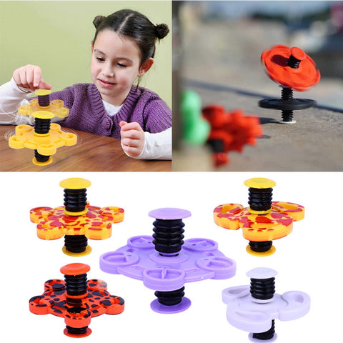Springing Top Spinner