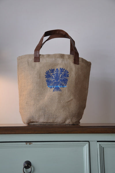 "LINEN BAG ""Blue Tree"""
